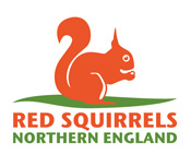 Red Squirrels Northern England logo